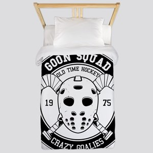 Hockey Mask Print Twin Duvet