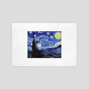 Starry Night by Vincent van Gogh 4' x 6' Rug