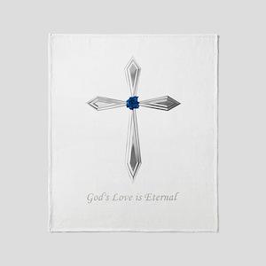 God's Love Is Eternal - Throw Blanket