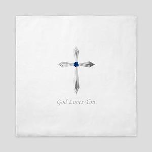 God Loves You - Queen Duvet