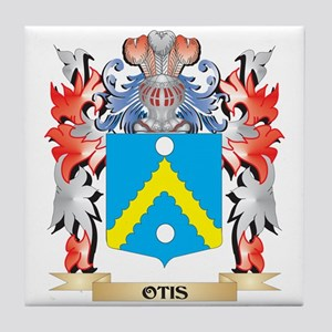 Otis Coat of Arms - Family Crest Tile Coaster