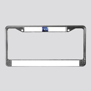 Starry Night by Vincent van Go License Plate Frame