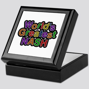 World's Greatest Nash Keepsake Box