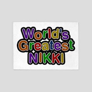 World's Greatest Nikki 5'x7' Area Rug