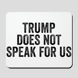 Trump Does Not Speak For Us Anti Trump Resist Mous
