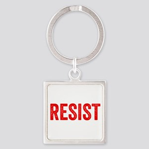Resist Hashtag Anti Donald Trump Keychains