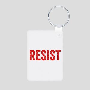 Resist Hashtag Anti Donald Trump Keychains