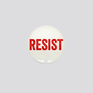 Resist Hashtag Anti Donald Trump Mini Button