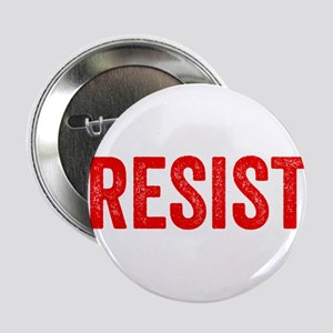 "Resist Hashtag Anti Donald Trump 2.25"" Button (10"