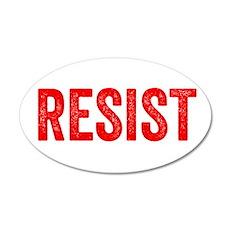 Resist Hashtag Anti Donald Trump Wall Sticker