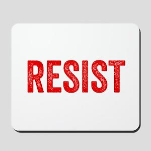 Resist Hashtag Anti Donald Trump Mousepad