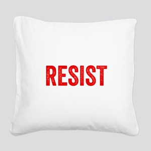 Resist Hashtag Anti Donald Trump Square Canvas Pil