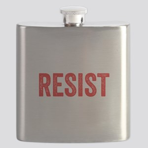 Resist Hashtag Anti Donald Trump Flask