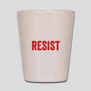 Resist Hashtag Anti Donald Trump Shot Glass