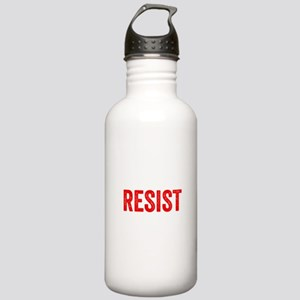 Resist Hashtag Anti Donald Trump Sports Water Bott