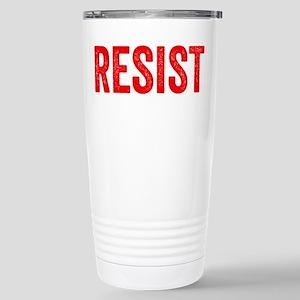 Resist Hashtag Anti Donald Trump Travel Mug