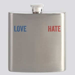 Revolt Resist Anti Donald Trump Flask