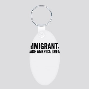 Immigrants Make America Great Keychains