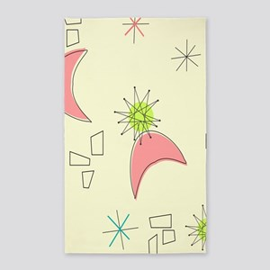 Boomerangs and Starbursts Area Rug