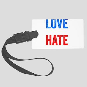 Love Trumps Hate Resist Anti Donald Trump Large Lu