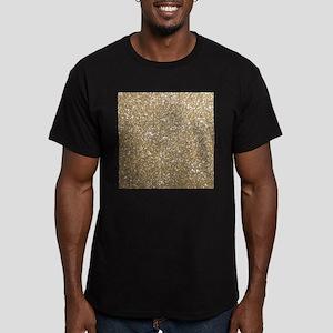 Girly Glam Gold Glitters T-Shirt