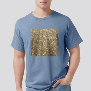 Girly Glam Gold Glitters T-Shirt