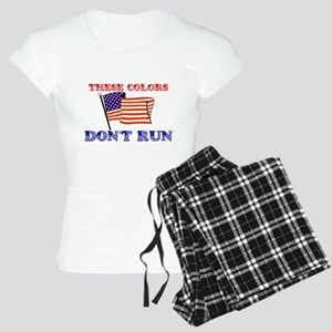 US FLAG: THESE COLORS DON'T RUN Pajamas