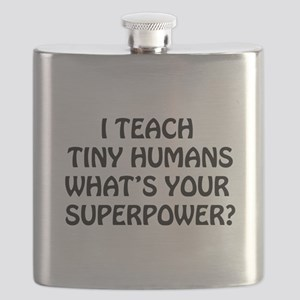 I Teach Tiny Humans Flask