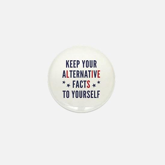 Alternative Facts Mini Button