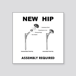 New Hip - Assembly Required Sticker