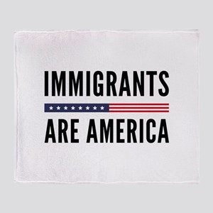 Immigrants Are America Stadium Blanket