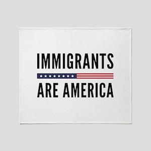 Immigrants Are America Stadium Blanket