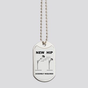 New Hip - Assembly Required Dog Tags