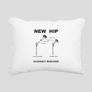 New Hip - Assembly Requi Rectangular Canvas Pillow