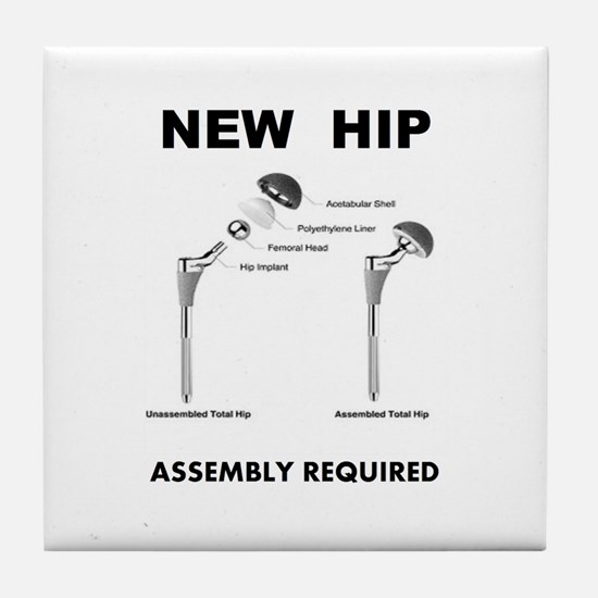 New Hip - Assembly Required Tile Coaster