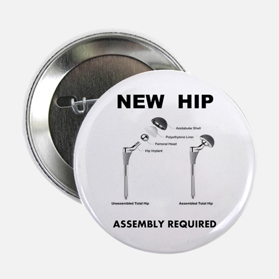 """New Hip - Assembly Required 2.25"""" Button (10 pack)"""