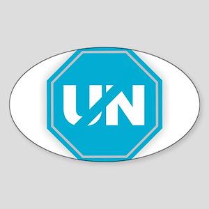 Stop the UN Sticker
