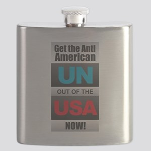 UN out of the USA Flask
