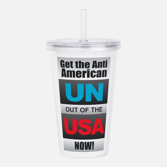 UN out of the USA Acrylic Double-wall Tumbler