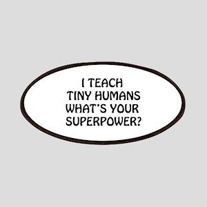 I Teach Tiny Humans Patch