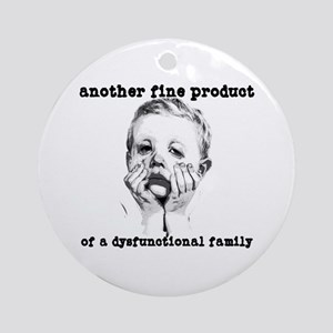 Dysfunctional Family Keepsake (Round)