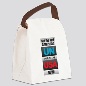 UN out of the USA Canvas Lunch Bag
