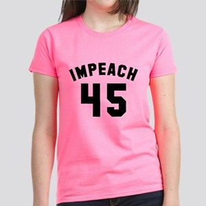 Impeach 45 Women's Dark T-Shirt