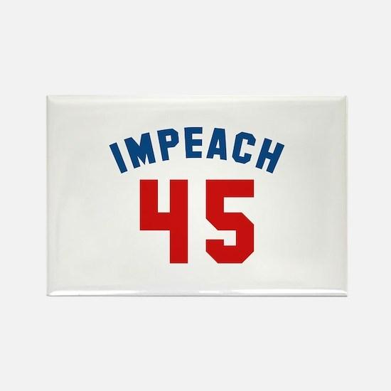 Impeach 45 Rectangle Magnet