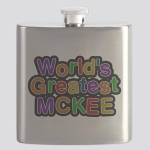 Worlds Greatest McKee Flask