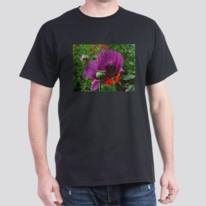 DeepDream Flowers, Poppy 01, floral T-Shirt