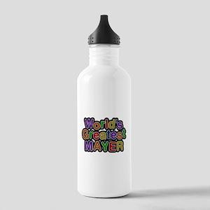 Worlds Greatest Mayer Water Bottle