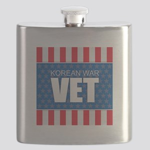 Korean War Vet Flask