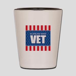 Korean War Vet Shot Glass