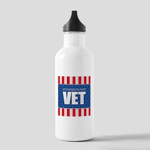Afghanistan War Vet Stainless Water Bottle 1.0L